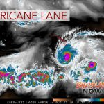 Damaging Winds from Hurricane Lane Could Begin Affecting Big Island This Afternoon