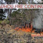 Keauhou Fire Destroys 3,679 Acres So Far