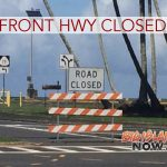High Surf Shuts Down Bayfront Highway