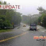 6 PM: Windward Side of Big Island Under Flash Flood Warning