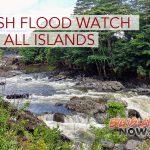 Flash Flood Watch in Effect for All Hawaiian Islands