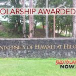 UH Hilo Awards Study Abroad Scholarship to Sophomore