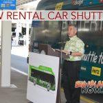 New Rental Car Shuttle Pilot Program at HNL Airport
