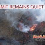 Volcano Summit Remains Quiet
