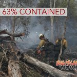 Fire Now 63% Contained