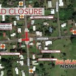 ROAD CLOSURE: Kawailani Street & Iwalani Street Intersection, Aug. 17–19
