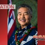 Governor Ige Traveling Out of State