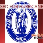 KSBE Closing its Campuses for Hurricane Lane