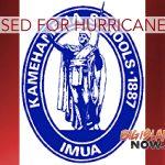 Kamehameha Schools Closed Statewide