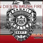 Man Dies in Brush Fire Incident