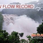 Record Flow Measured at Rainbow Falls