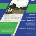Hwy 130 Informational Meetings Scheduled