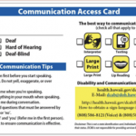 New Communication Access Card Available