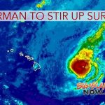 Cat 3 Norman to Cause Large Swells, Dangerous Surf