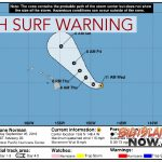 Hurricane Norman: High Surf Warning Issued