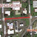 Kawailani St. Closed for Improvement Project