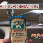UPDATE: Mauna Loa Mac Nut Releases Recall Information