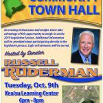 Sen. Ruderman to Host Community Town Hall
