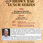 Brown Bag Lunch Series: Developing Capacities