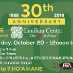 Lanihau Center Celebrating 30th Anniversary