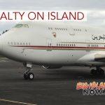 Boeing 747 'Al Sakhir' Brings Royalty to Big Island