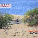 PHOTO: IRONMAN Leader Bikes Into Kawaihae