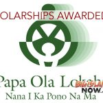 Native Hawaiian Health Scholarships Awarded