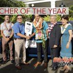 Big Island Teacher Named 'State Teacher of the Year'