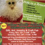 Joann 'Goose' Williams Christmas Treasures Art, Gift & Craft Fair