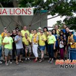 Kona Lions Spruce Up Homeless Resource Center