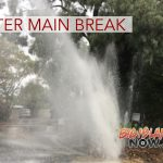 Water Main Break on Puako Beach Drive