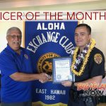 HPD's David Poohina Named Officer of the Month