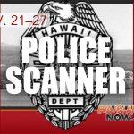 Big Island Police Scanner Log: Nov. 21–28