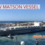 New Matson Vessel Arrives in Honolulu