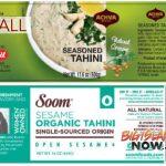 RECALL: Hawai'i Tahini Products Could be Contaminated