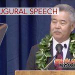 Gov. Ige Presents Second Inaugural Speech