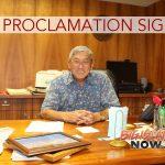 Mayor Kim Signs Sixth Supplementary Emergency Proclamation