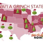 Hawai'i Ranked as #2 'Grinchiest' State