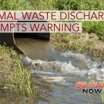 Animal Waste Discharge at Dairy Prompts Health Warning