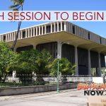 30th Biennial Hawai'i State Legislature to Convene Jan. 16
