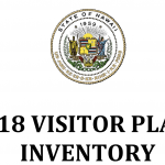 HTA Issues 2018 Visitor Plant Inventory Report