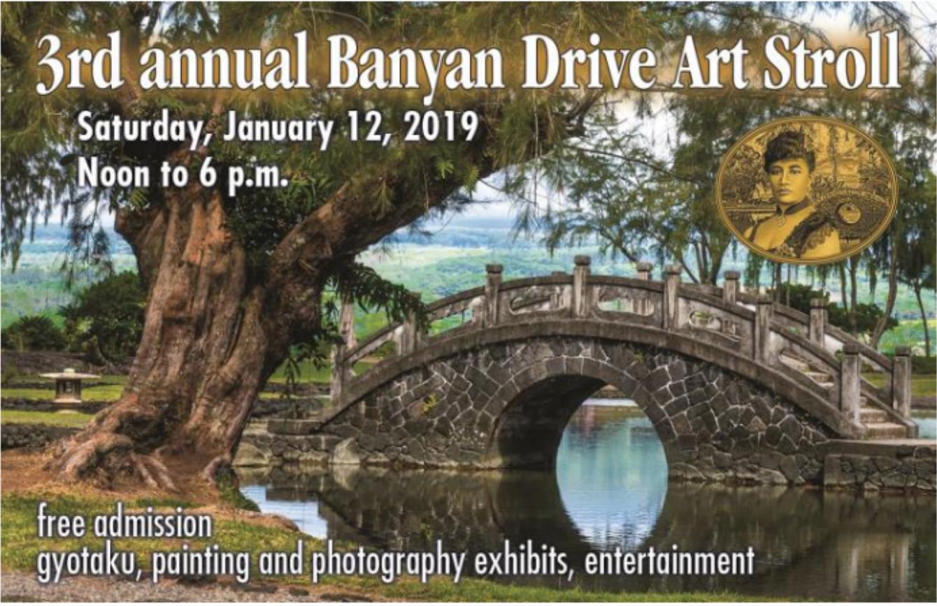 Third Annual Banyan Drive Art Stroll 2019