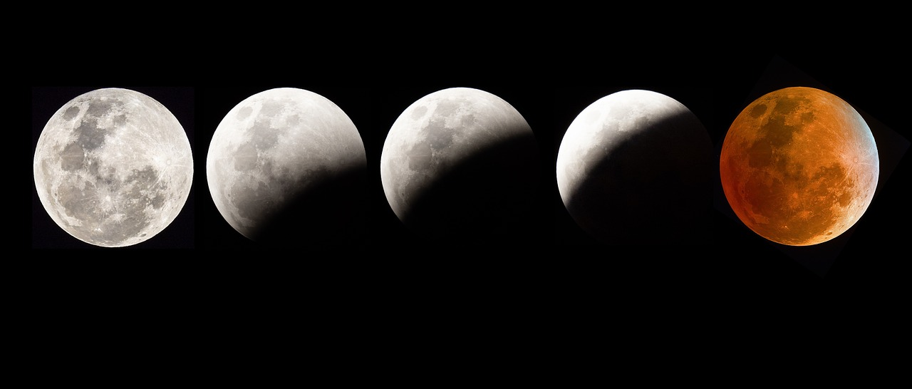 Blood moon eclipse, pixabay. No watermark to mar image.