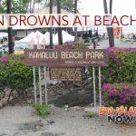 Drowning Reported at Kahalu'u Beach
