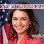 Rep. Gabbard Officially Announces Run for President