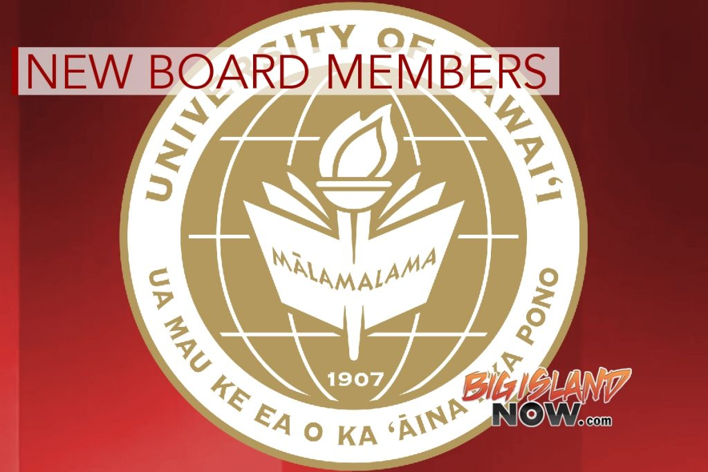 New Members Appointed to UH Board of Regents | Big Island Now
