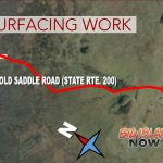 Old Saddle Road Resurfacing Work, Jan. 23–Feb. 1