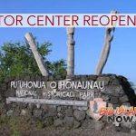 Pu'uhonua o Hōnaunau Reopens Visitor Center