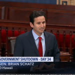 Sen. Schatz: 'People Are Suffering, We Must Reopen The Government'