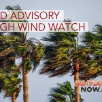 Wind Advisory in Effect For Big Island Through Thursday